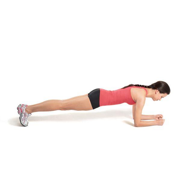 おうちでできる、身体を一直線に保つ体幹トレーニング「プランク」♪