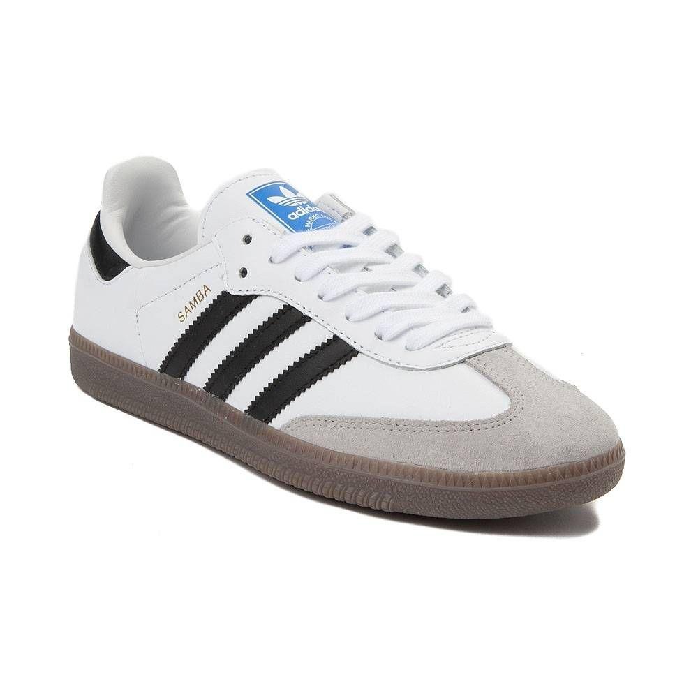 Womens adidas Samba OG Athletic Shoe - White/Black/Gum ...