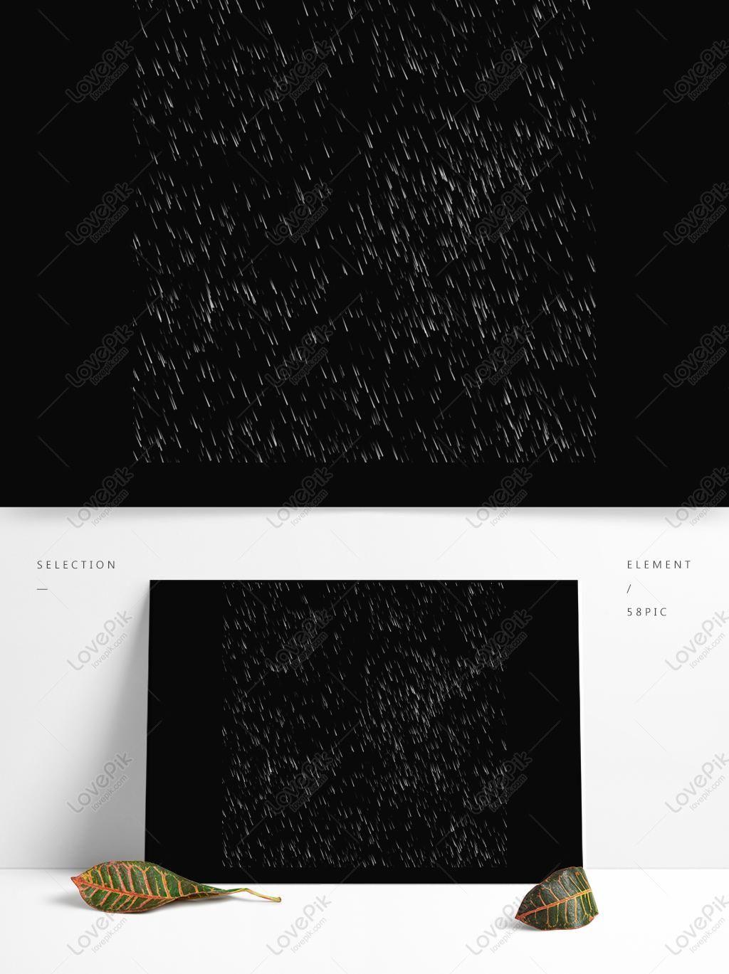 تمطر قطرات المطر تصميم المواد الزخرفية Material Design Design Decor