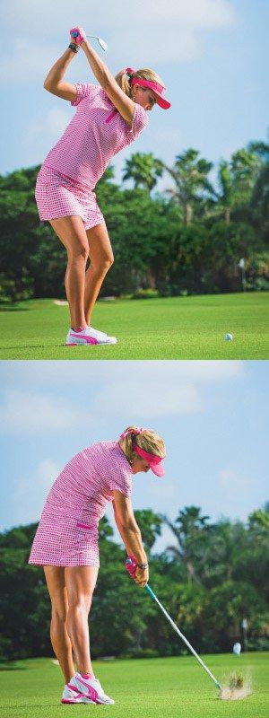 Lexi Thompson, the LPGA's newest major champion, shows you how to smash it.
