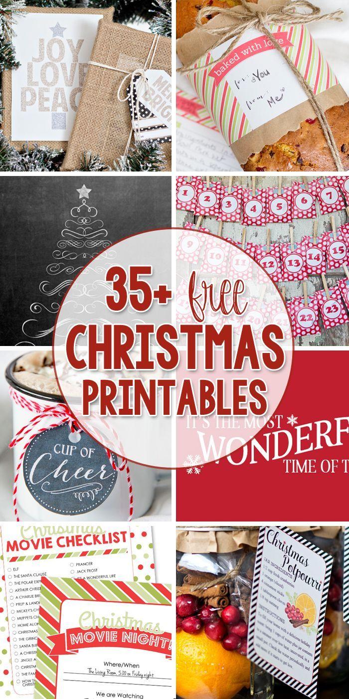 Christmas Free Printables Pinterest Best Pinterest Free
