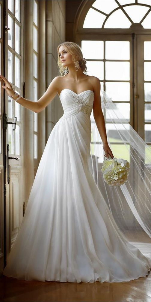 50 SIMPLE WEDDING DRESSES FOR YOU   Wedding dress, Weddings and ...
