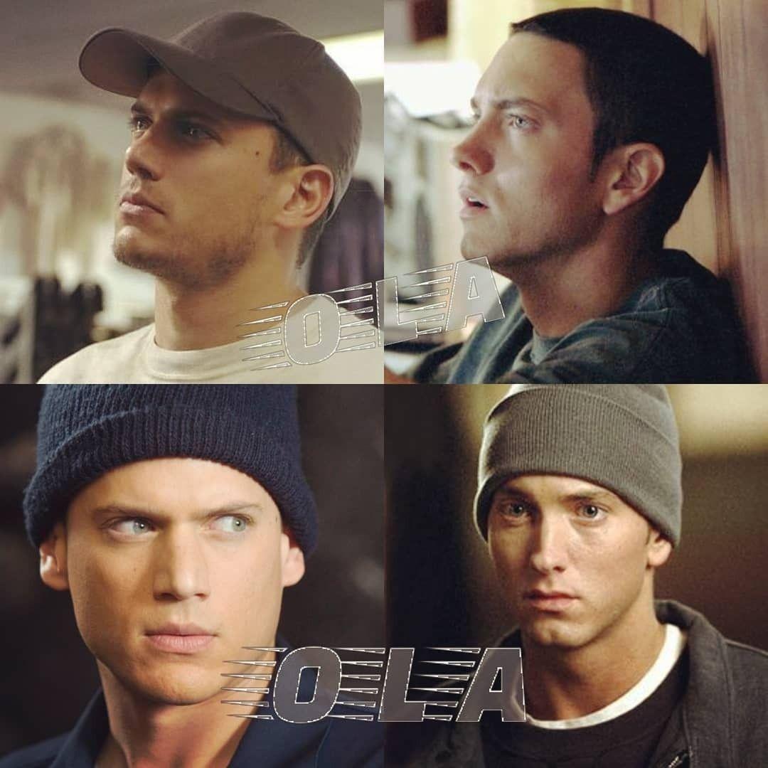 Twins 😍😍 #eminem #wentworthmiller | Eminem, Wentworth