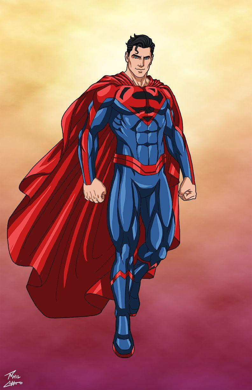 Jon Kent Superman Commission By Phil Cho On Deviantart Superman Comic Marvel Comics Vintage Dc Comics Superman