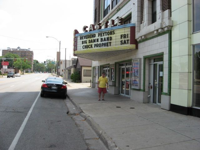 The Old Movie Theater John White In Front