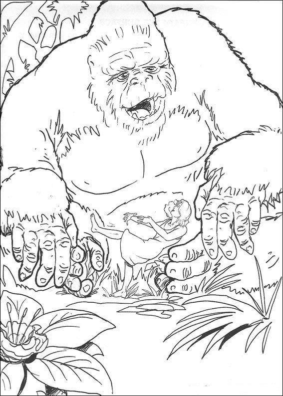 Weve Got King Kong Simply Download Print And Color Repin Coloring SheetsColoring