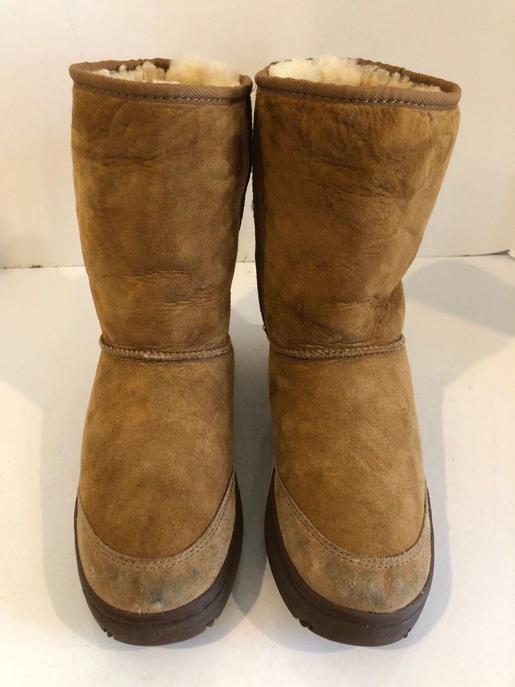 65e7edd4319 Womens UGG Australia Ultimate Short Chestnut Size 9 #fashion ...