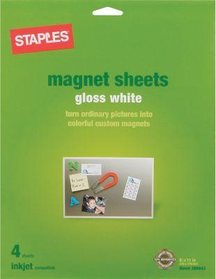 Inkjet Magnetic Sheets, 8 1/2\