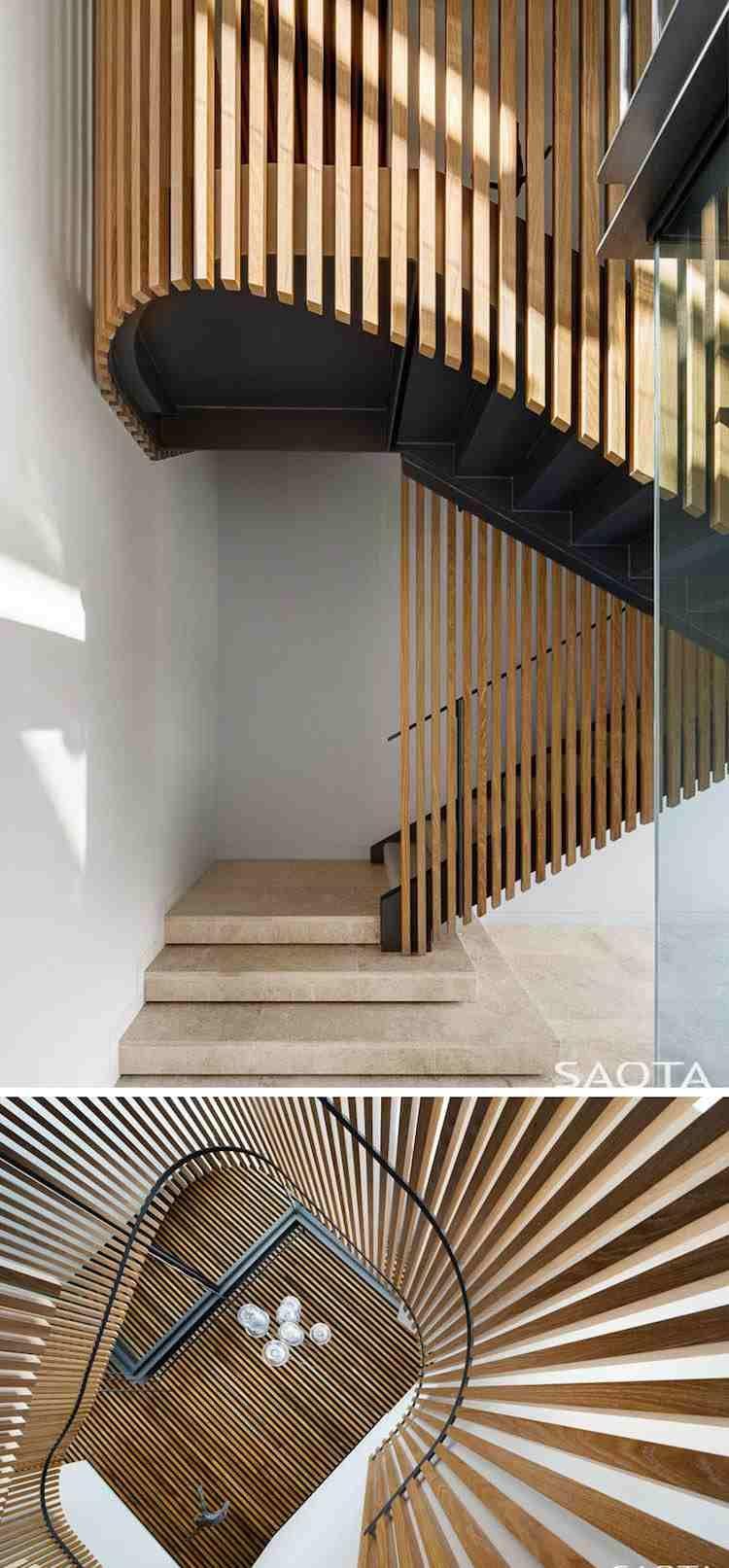 Home design exterieur und interieur clairevoie en matériaux variés pour luintérieur et luextérieur de