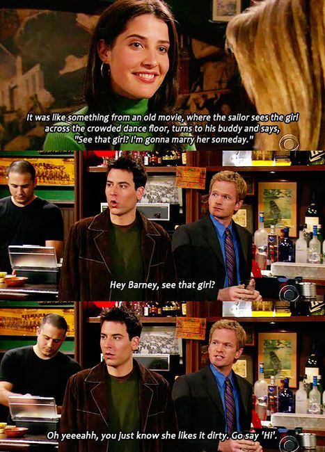 Himym How I Met Your Mother How I Met Your Mother Pinterest