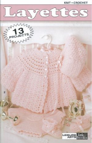 Crochet Pattern Central Free Baby Layettes Sets Baby Items