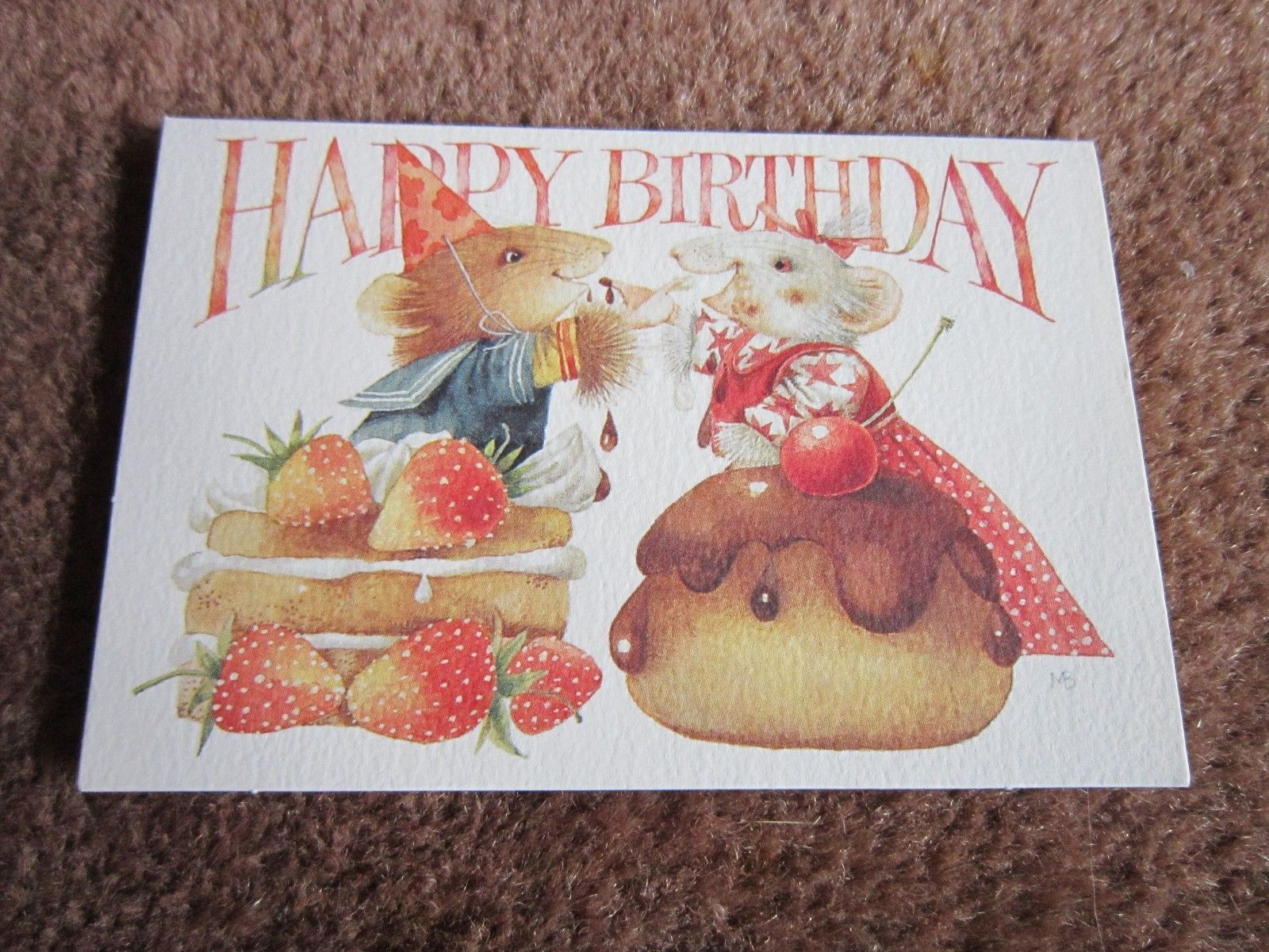 Vera the mouse bianca happy birthday marjolein bastinitty bitty vera the mouse bianca happy birthday marjolein bastinitty bitty greeting card m4hsunfo Images
