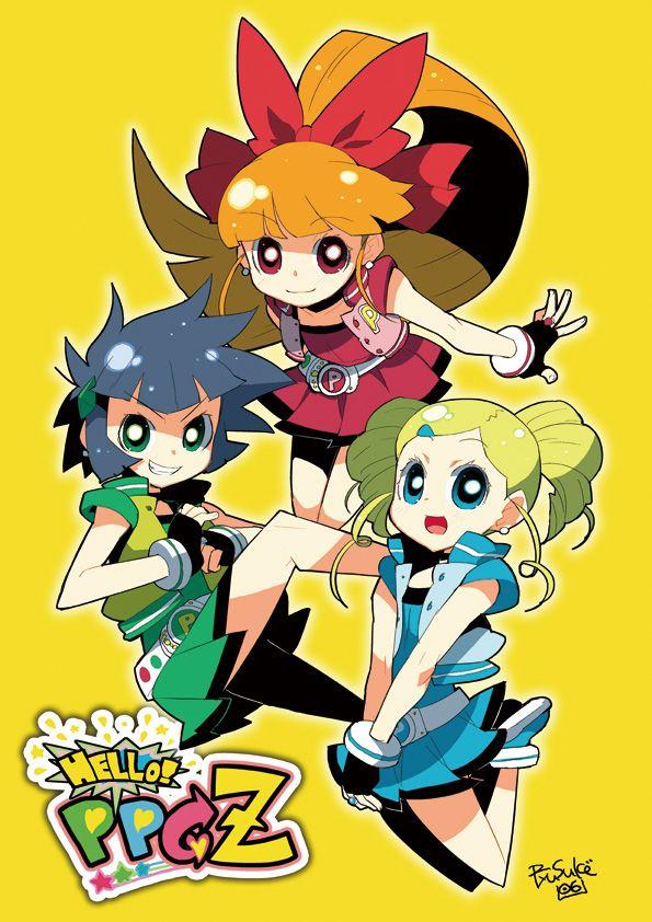 Power Puff Girls Z By Ryusukehamamotodeviantartcom On -1414
