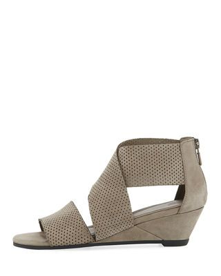 0831aa41842a Eileen Fisher Kes 2 Perforated Wedge Sandal | Products | Wedge ...