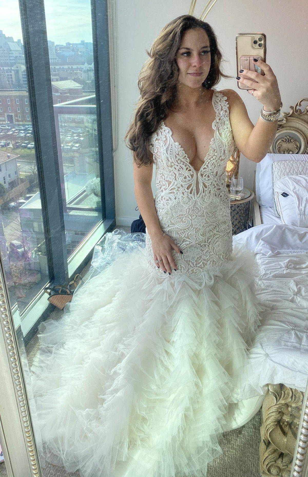 Lazaro 3650 Sample Wedding Dress Save 35 Wedding Dresses Dresses Preloved Wedding Dresses [ 1856 x 1200 Pixel ]