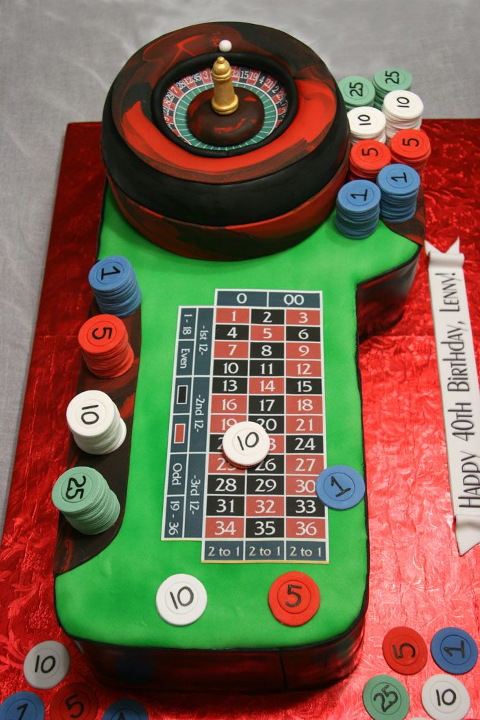 Roulette table - My client asked that I duplicate this