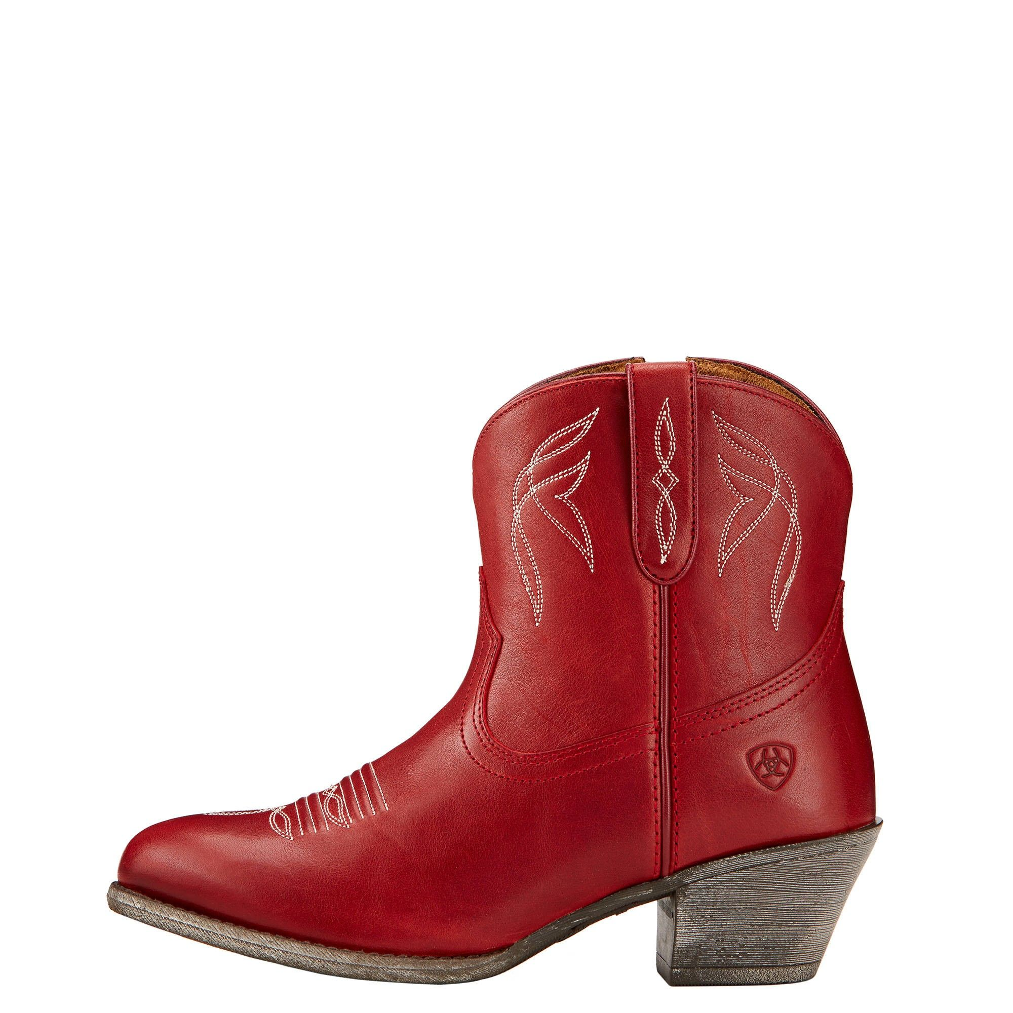 Ariat Boots Darlin Rosy Red #10017324
