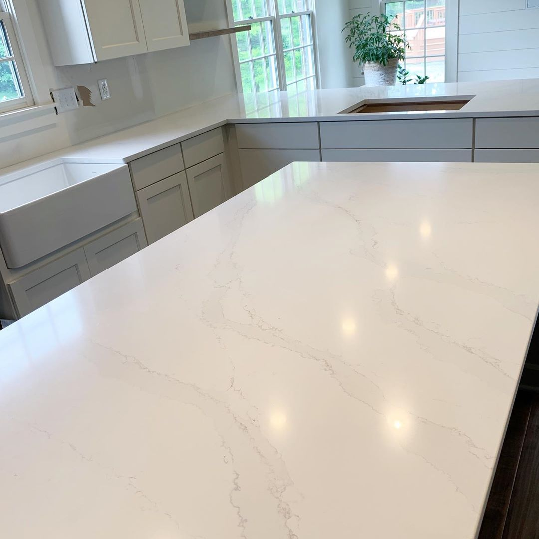 Silestone Calacatta Gold Quartz From Home Depot Quartz Kitchen