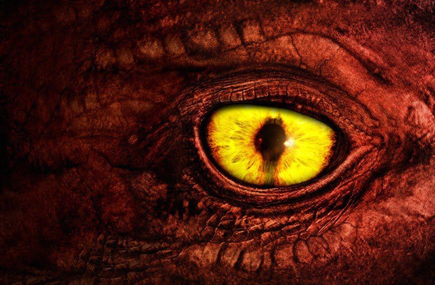 Red dragon eye | Blitzkrieg the Dragon | Pinterest ...