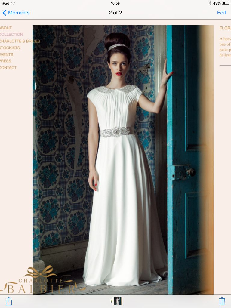 Cute peter pan collar bridal dress our wedding pinterest