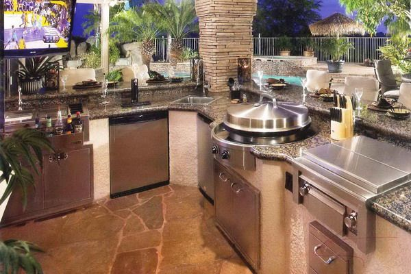 Awesome Modular Outdoor Kitchensthe Poolside Kitchen Design Stunning Patio Kitchens Design 2018