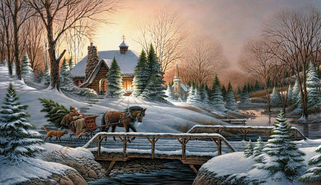 красивые зимние открытки картинки искусствовед
