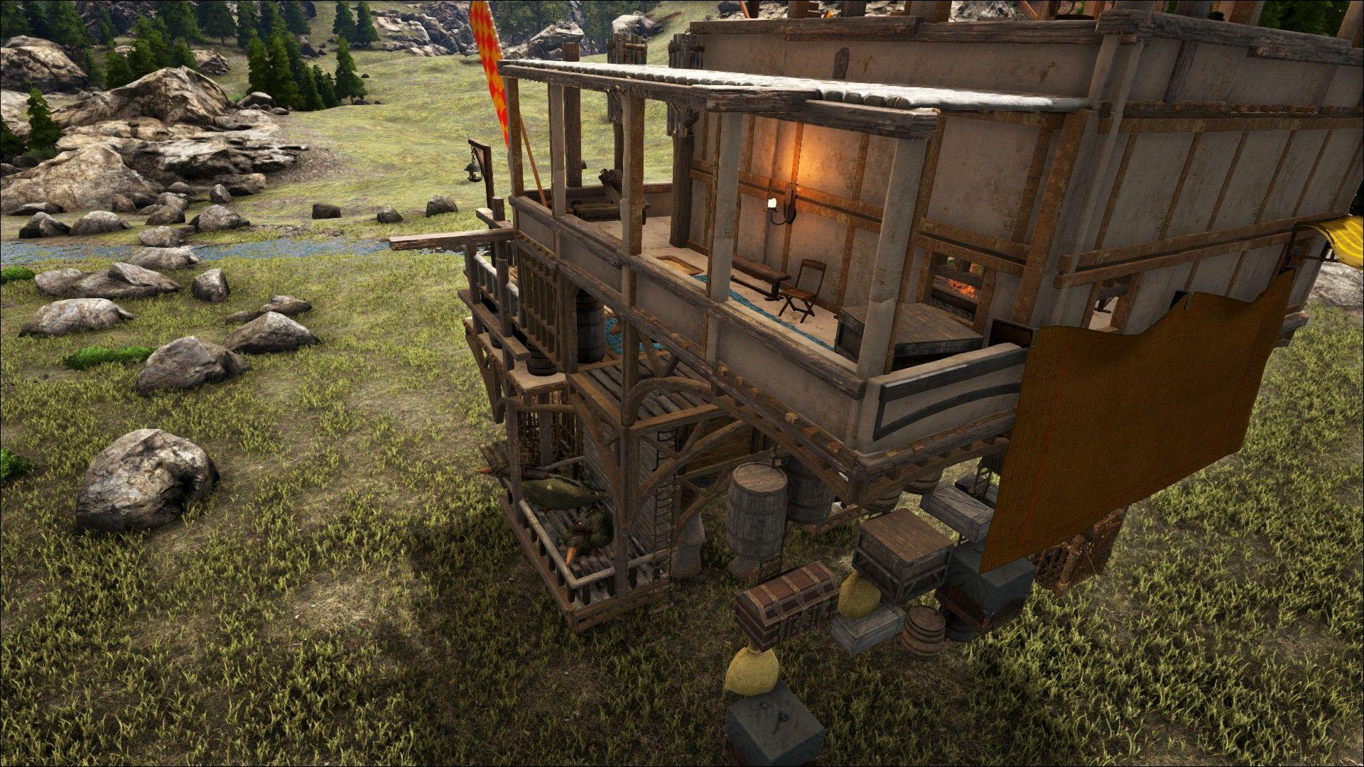 Ark Paracer Platform Base Trader Nomadic Tribe Platform Base