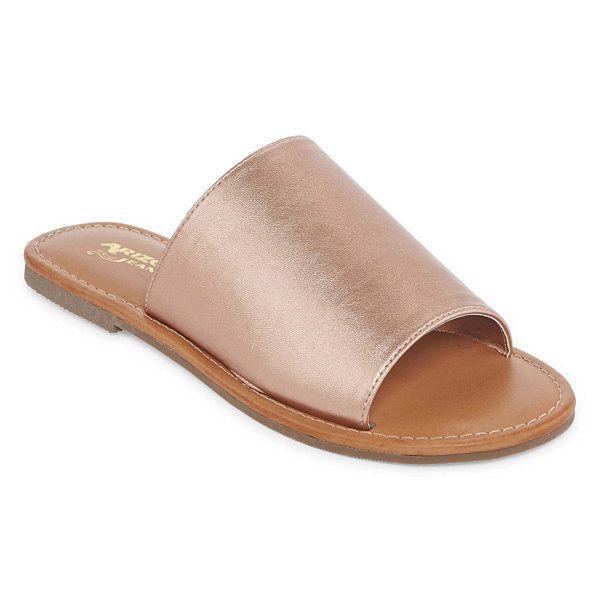 87a35b45b6f7 Arizona Gari Womens Slide Sandals - JCPenney