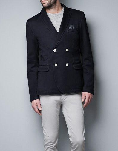 giacca doppiopetto zara uomo