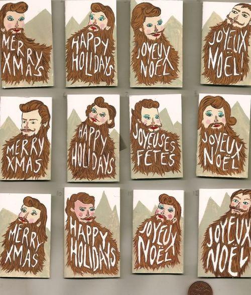 Crazy Christmas cards!
