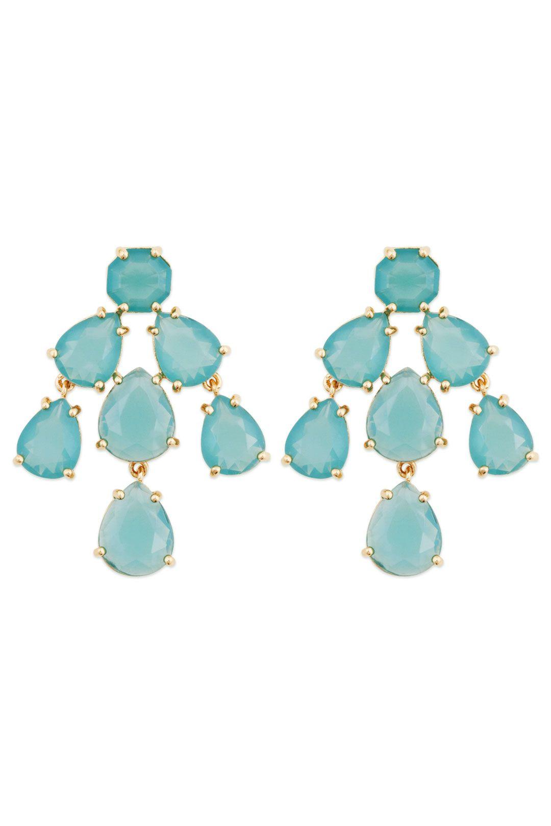 Aqua Kate Chandelier Earrings – Aqua Chandelier Earrings