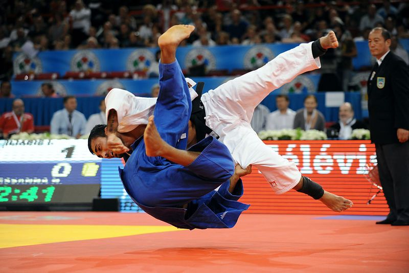 Tirage Photo Ilias Iliadis Et Hugo Pessanha Judo Artes Marciais Marcial