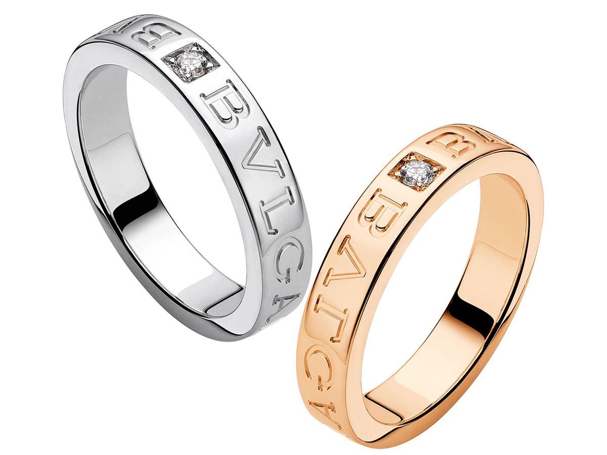 Bulgari Bulgari Diamond Black Ceramic Ring Black Ceramic Ring Engagement Rings Couple Mens Wedding Rings