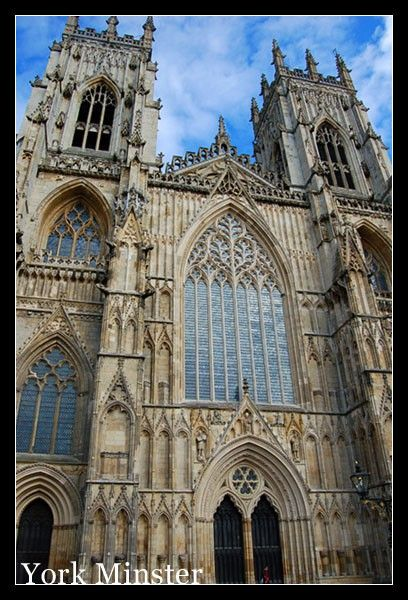 York Minster, York...such a beautiful church.  Got to go to a service here.  My favorite place!