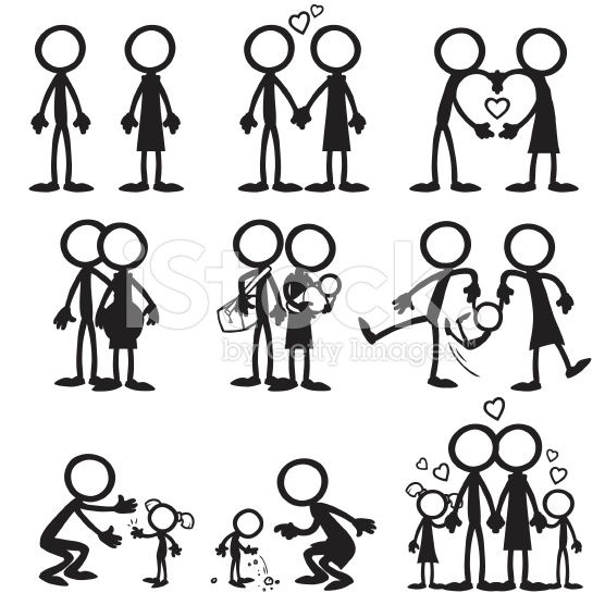 Stick Figure Drawing Embroidery Love Couple 842 609 Transprent Png Free Download Stick Figure Drawing Stick Drawings Stick Figures