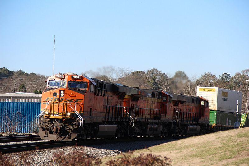 BNSF intermodal in Austell, GA