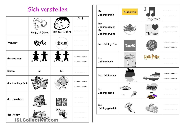 sich vorstellen 2 pinterest german and deutsch