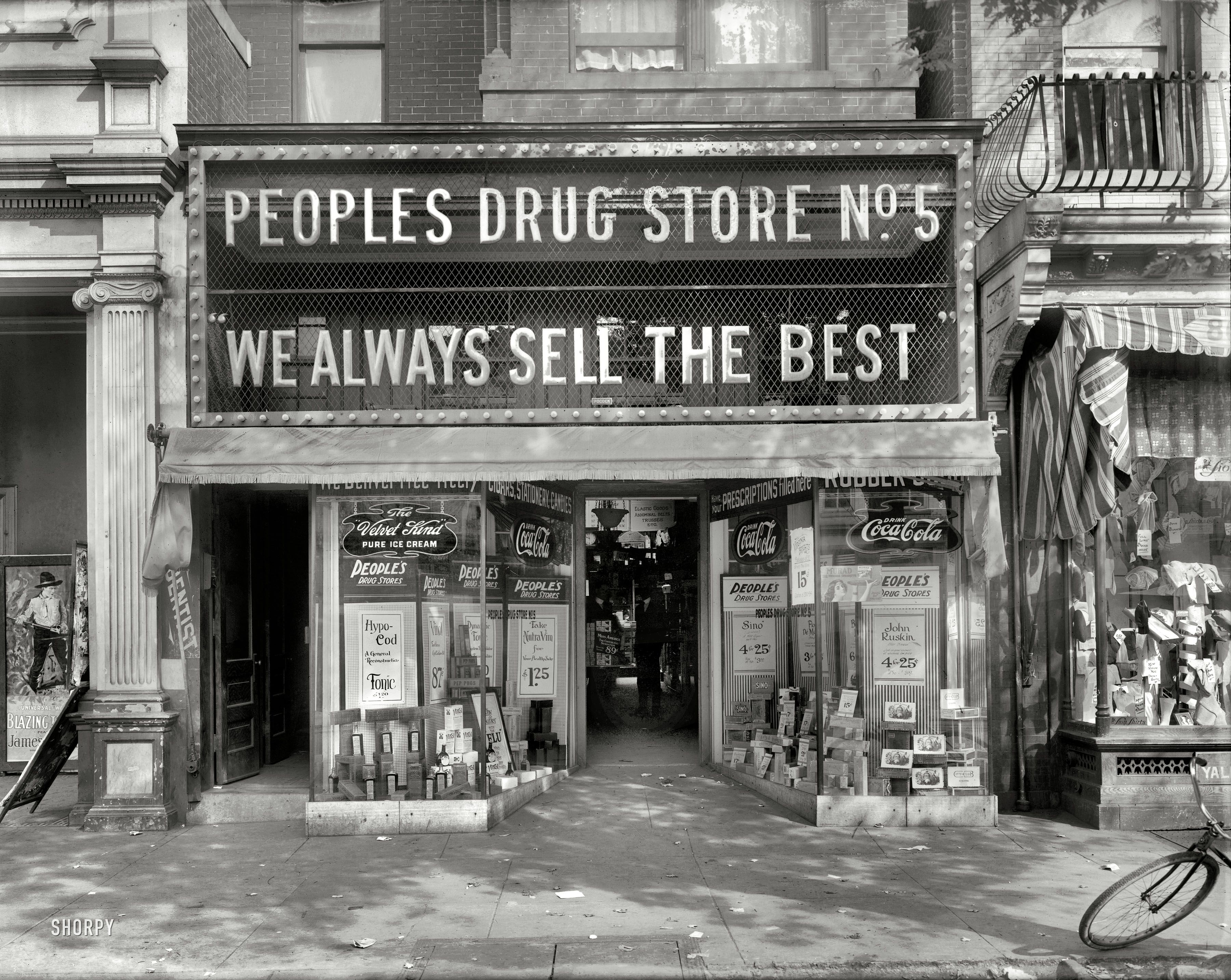 Washington D C Circa 1920 Quot People S Drug Store No 5