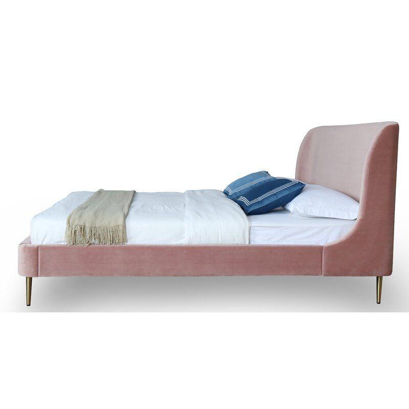 Best Everly Quinn Graeme Upholstered Platform Bed Wayfair 400 x 300