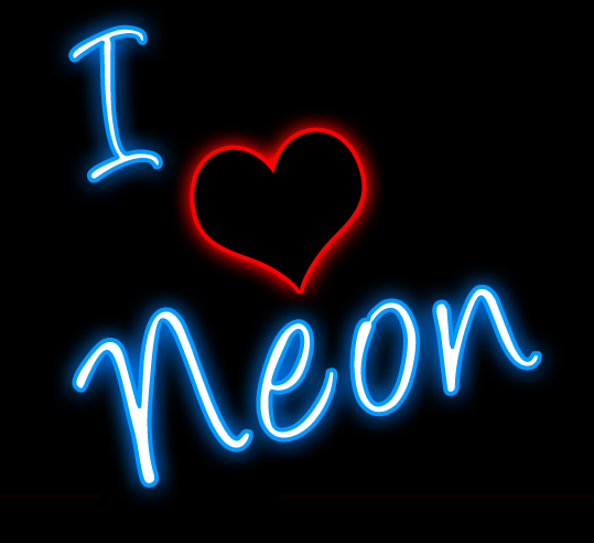 Clipart And Tagged Clipart I Love Neon Jeff Joe Mary Mike Neon Sign Neon Signs Neon Love Neon Sign