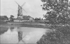 The windmill at Downham Market, Norfolk: Where the Dalston County Secondary Grammar School for Girls, Hackney, London were evacuated in WW2.