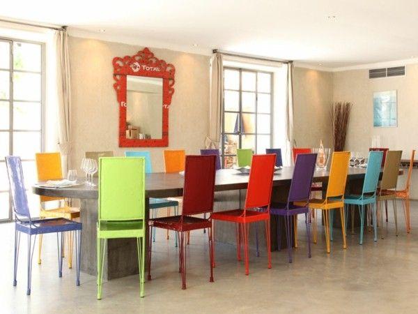Resultado de imagen para sillas colores primarios pastel | Mesas ...