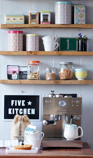 Die 15 besten Wohntipps für die Küche: Offene Regale brauchen ...