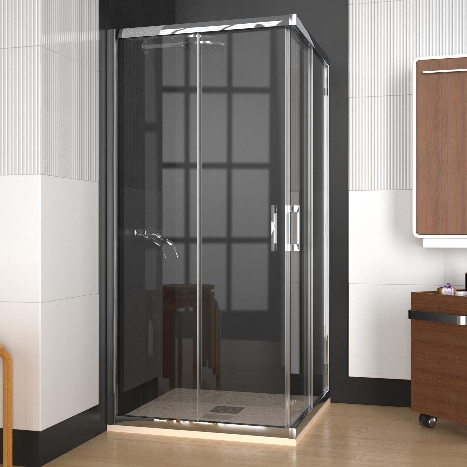 Mampara de ducha angular modelo cancun de doccia 276 00 - Modelos de banos y duchas ...