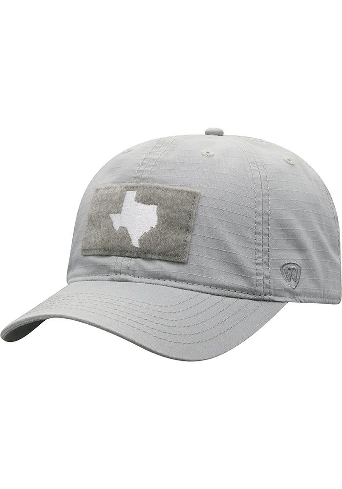 premium selection 9d1d9 4347d Top of the World Texas Mens Grey Breakaway Adjustable Hat, Grey, COTTON,  Size
