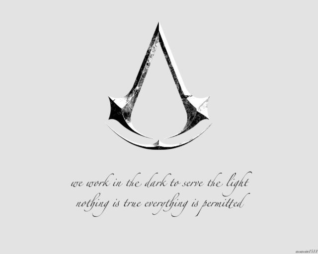 Assassins Nothing Is True Everything Is Permitted Assassins
