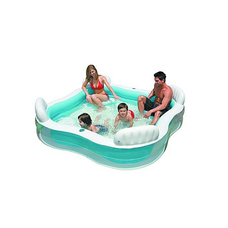 Intex Swim Centre Family Lounge 4 Seater Pool