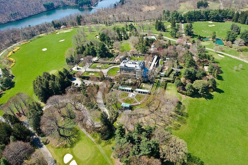 Kykuit-Rockefeller Estate  Pocantico Hills   USA