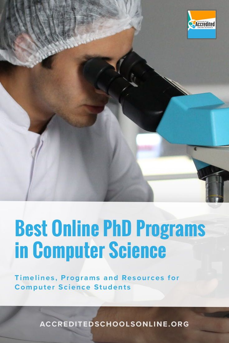 Coursework for phd in computer science