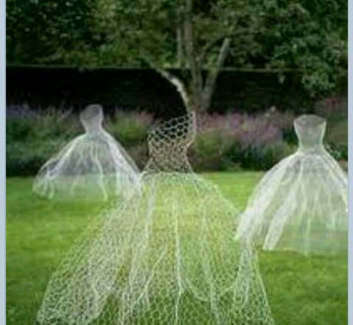 Ghostly dancers